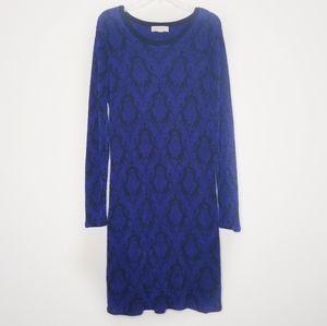 Michael Michael Kors》Blue & Black Printed Dress